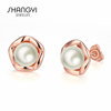 Wholesale Wedding Jewelry Trendy Cultured Pearl Earring