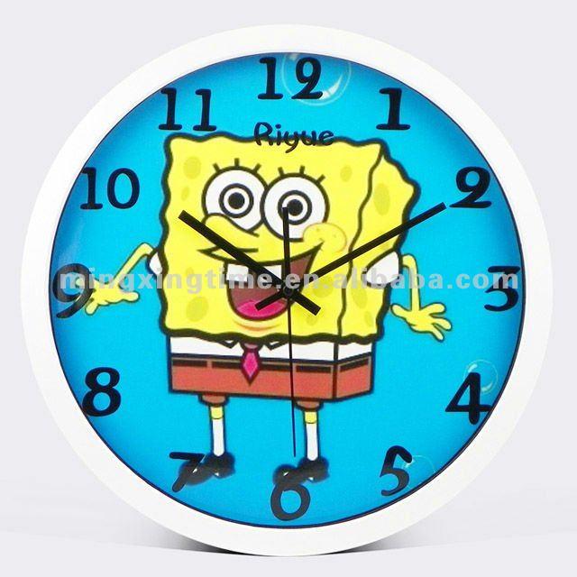 Im genes de dibujos animados de temas relojes de pared - Relojes de diseno de pared ...