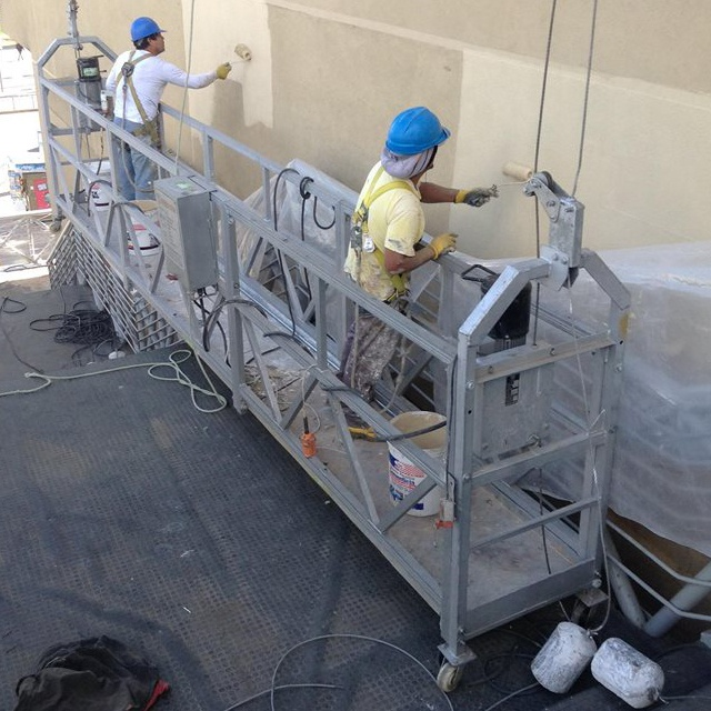Color Powered Electrical Suspended Access Platform