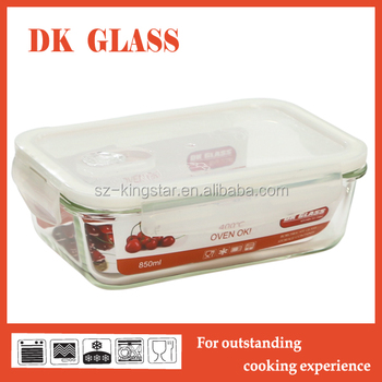 Heat Resistant Gl Plastic Food Container Storage Pyrex Punch Bowl