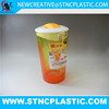 HARD PLASTIC JUICE PITCHER WITH LID
