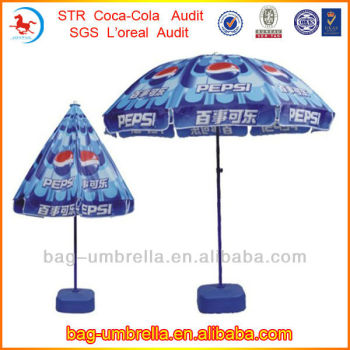 Pepsi Tilt Mechanism For Patio Umbrella Parasol Promotional Budweiser  Umbrellas