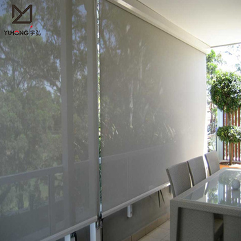 Low minimum order quantity waterproof outdoor roller shade