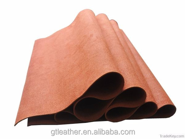 pig nubuck genuine leather split leather