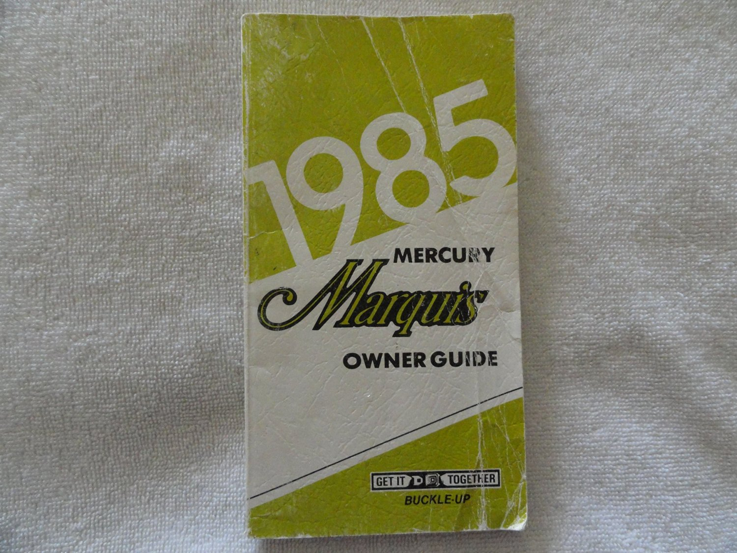 1985 Mercury Marquis Owners Manual