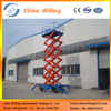 Electric Hydraulic Scissor Lift/Manual Mobile Lift Table