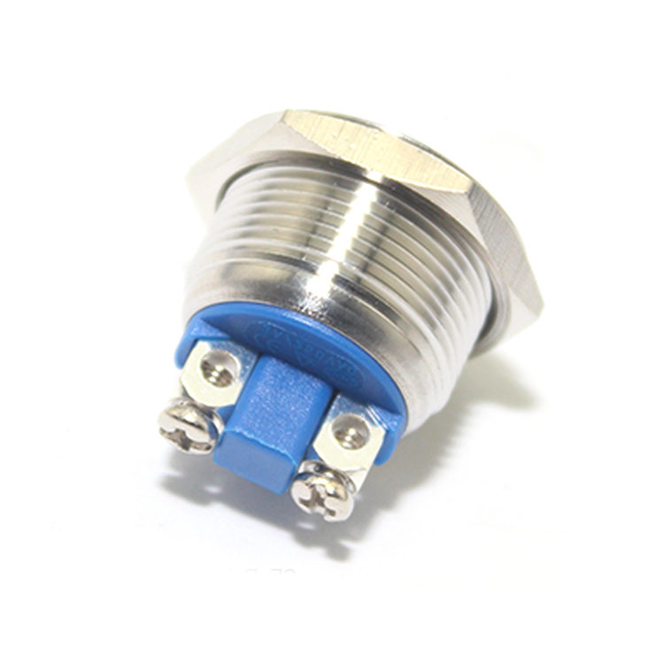 Factory Sale 8mm 12mm 16mm 22mm 25mm 30mm Led Metal Push Button <strong>Switch</strong>