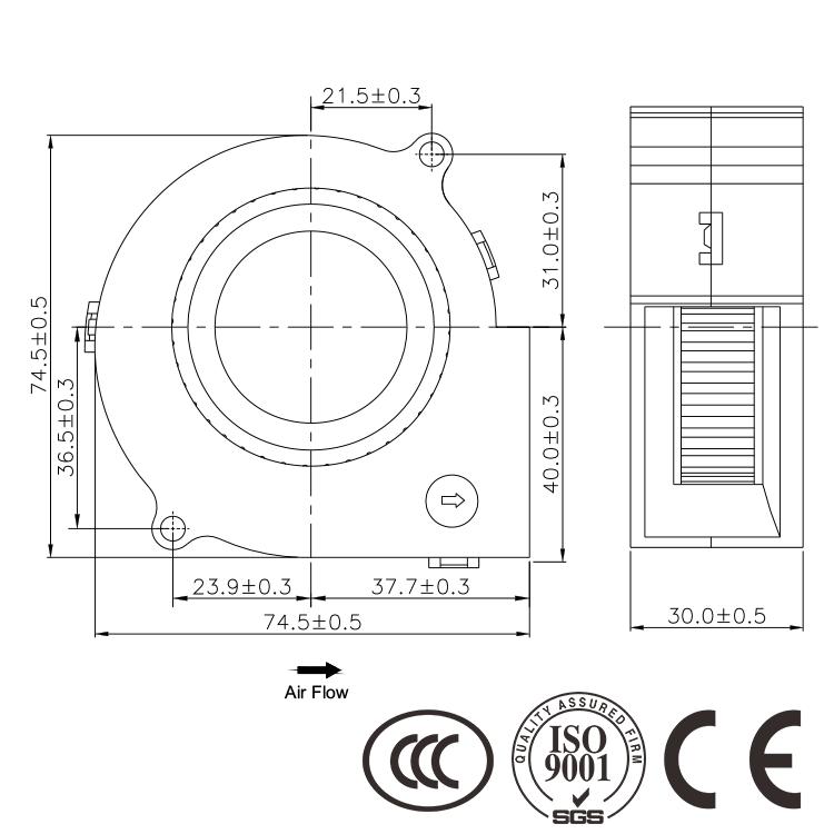 China Fan Radial Wholesale
