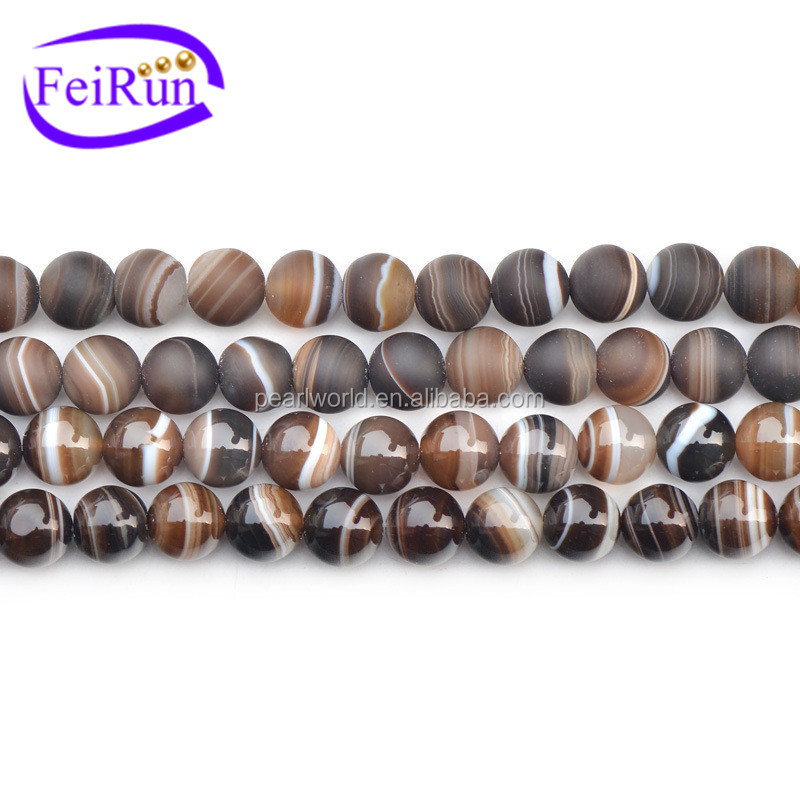 FEIRUN 6-16mm natural beads cheap price raw agate price, agate geode stone, rough emerald gemstone
