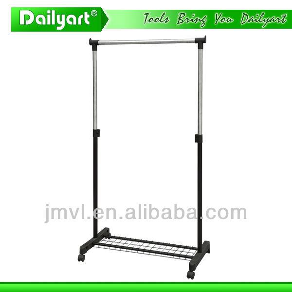 2017 high quality simple practical garment display rack