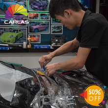 50% OFF 140USD CARLAS Car Wrap PPF Car Paint Protection Film Self Healing Transparent Film Roll Nano Film Car Vinyl Sticker