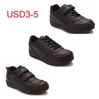 USD3-5 CHEAP kids black casual wonderful school cheap boy kids shoes for children