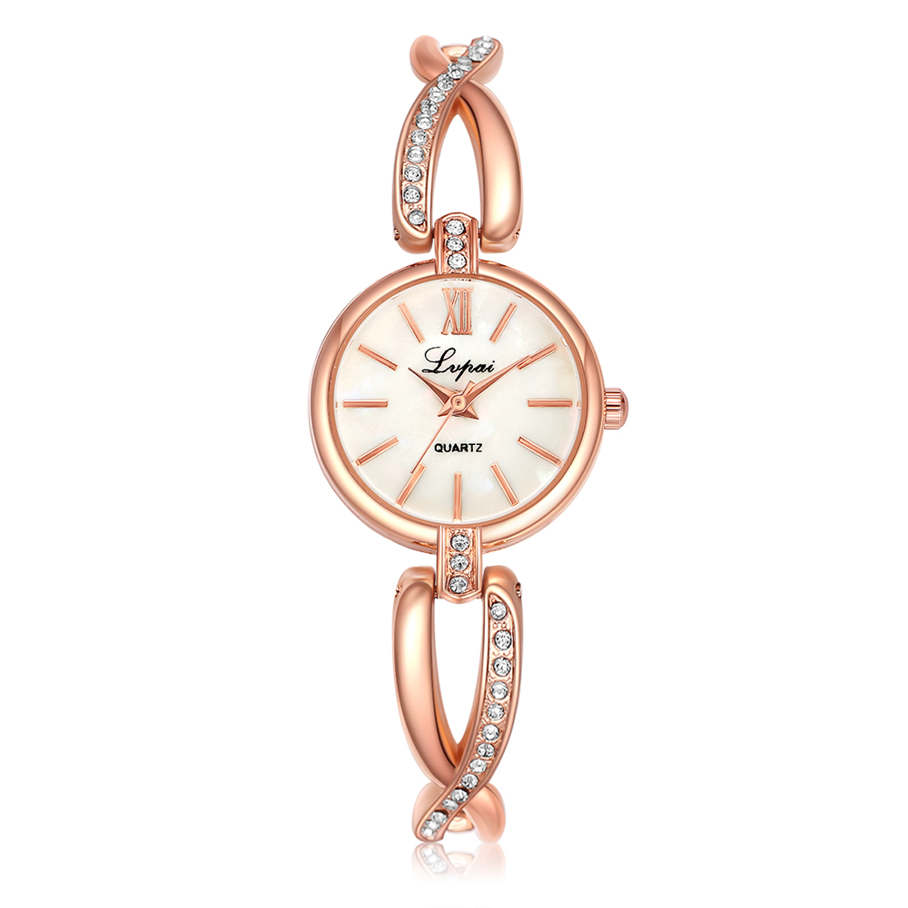 silver watch watches gold chain louis vuitton with untitled crystel rose women