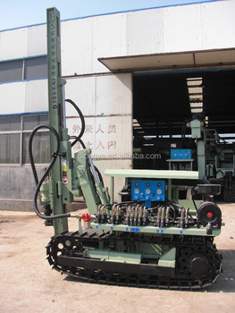 30m deep hydraulic borehole drilling rig, drilling equipment