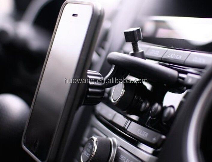 Universal CD Slot Magnetic Cradle-less Smartphone Car Mount Holder for smartphone