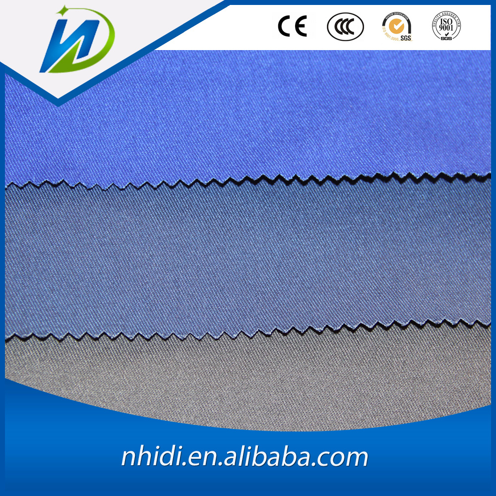 polyester cotton 65/35 navy dyed police/doctor/school uniform tc 3/1 drill fabric fabric