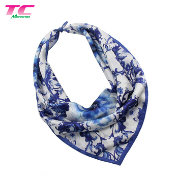 Hot Chinese Style Lady Pure Silk 53 x 53cm Mothers Day Gifts Lady Scarf Women