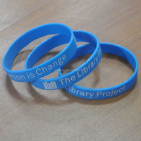 Manufacture OEM design good promotional gifts christian silicone bracelet