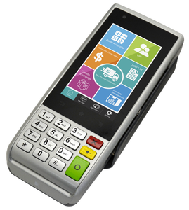 Justtide manufactured Handheld Android NFC Terminal POS