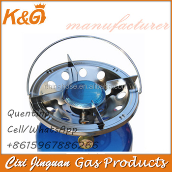 Camping Gas Burner With Control Valve Home Cooking Kitchen Parts Stove Top Accessories