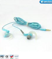 Ienjoy new design noise cancelling earphone 3.5mm promotion earphone cheapest price for smartphones
