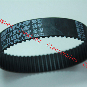 Japan Original SMT Spare Parts 300-5GT-23 Black Rubber Timing Belts