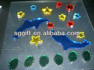 gel sticker gel gems window stickers