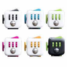 Fidget cube for Stress relief magic cube 12 sides fidget cube with relieve stress