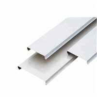 New Material Metal Tiles False Strip Ceiling For Interior Decoration
