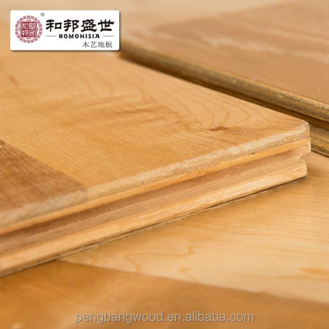 Hardwood Maple 15mm Floor Top Layer 4mm