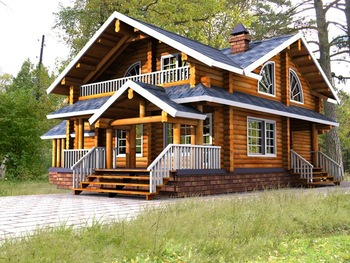 Wooden house wooden home log house wooden cottage rest - Casa in canapa costo ...