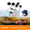 2013 hot on sale!!! 500m Bluetooth Stereo Headset & Intercom Set/bluetooth interphone/Motorcycle bluetooth Intercom