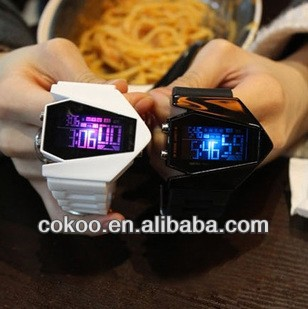 2013 new hot selling Best Gift Men's Luxury Date Digital Sport Led colorfull Watch