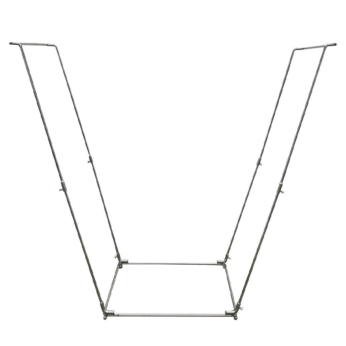 Get Quotations Easygo Trash Bag Holder Leaf Stand Multi Use Garbage Frame