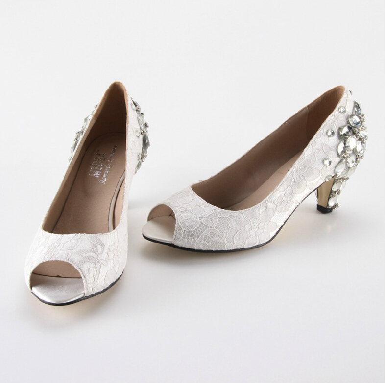 Cheap Wedding Shoes White Low Heel Find Wedding Shoes White Low