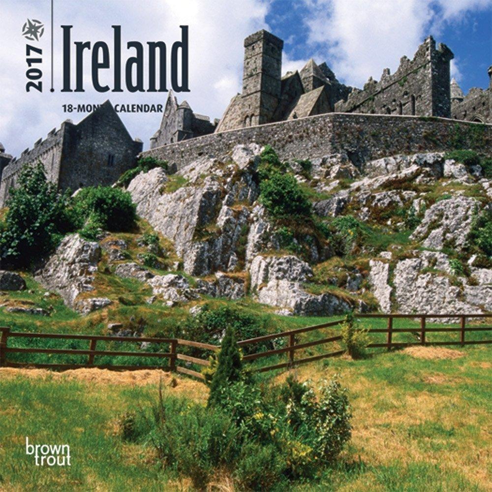 "Ireland 2017 Mini Calendar 7"" x 7"""