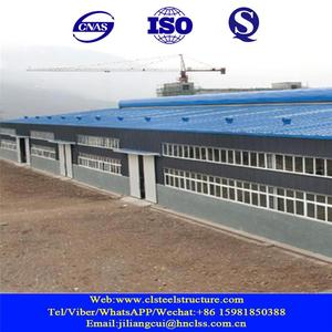 structure prefabricated low cost peb workshop steel factory building in africa