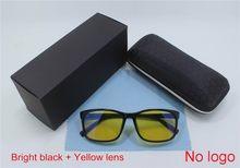 Прямая поставка, анти-Синие лучи, УФ-блокировка, уменьшает цифровое напряжение глаз, прозрачные желтые обычные очки для компьютерных игр, оч...(Китай)
