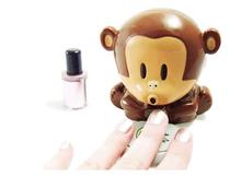 Cute Monkey Manicure Nail Dryer Polish Blower Dryer Nails Dry Machine Tool gel nail dryer