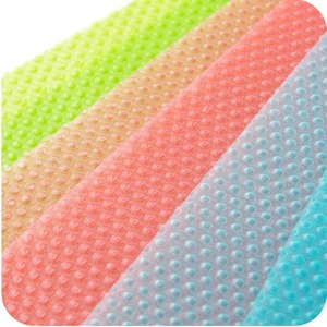 Refrigerator Mats,4 pcs EVA Refrigerator Liners Washable Can Be Cut Refrigerator Pads Fridge Mats Drawer