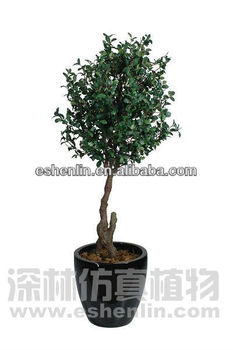 5 foot tall with pot plastic money tree,artificial plants in shenlin