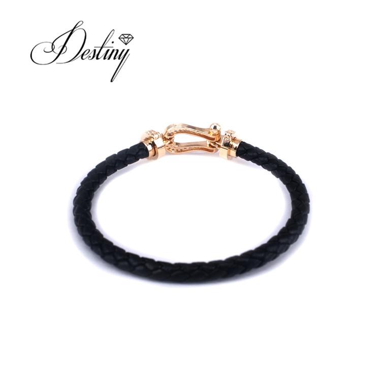 199f64106 Swarovski Leather Bracelet Wholesale, Leather Bracelet Suppliers - Alibaba