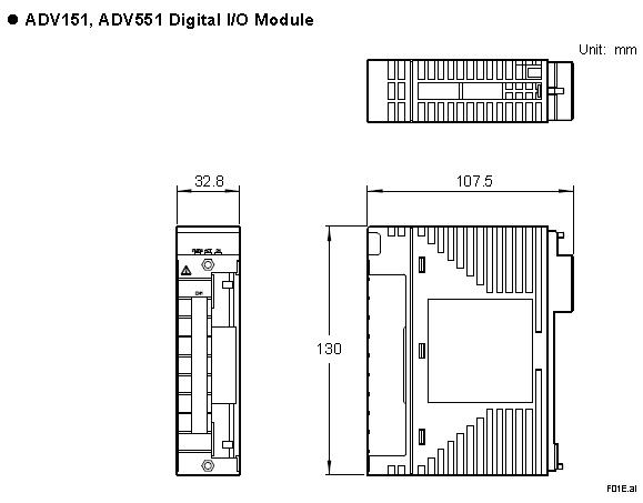 Yokogawa Digital Output Module ADV551-P53 S2 100% Original brand new