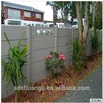 Decoracion jardin en muro de hormigón prefabricado panel que hace ...