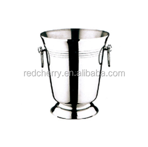 RC-JXT-11 Stainless steel belt foot barrels of wine champagne ice bucket