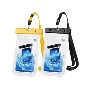 Custom Waterproof Pvc Cell Phone Bag Pouch Case Waterproof Mobile Phone Bag