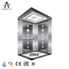 Luxury cabin decoration low noise working reliable Small machine room passenger elevator