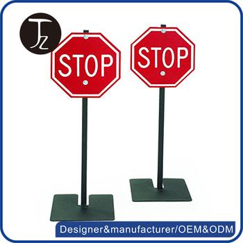 Personnalis en m tal panneau de signalisation de s curit d 39 arr t signes usine buy product on - Panneau de signalisation personnalise ...