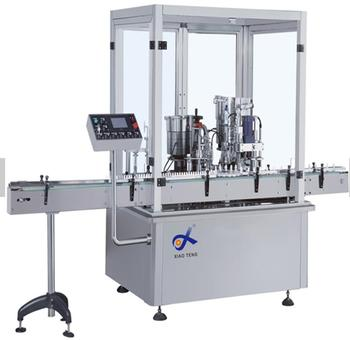 Automatic liquid filling capping Machine, machine filling spray cans