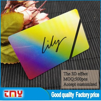 Plastic 3d lenticular business card printing buy business card plastic 3d lenticular business card printing colourmoves